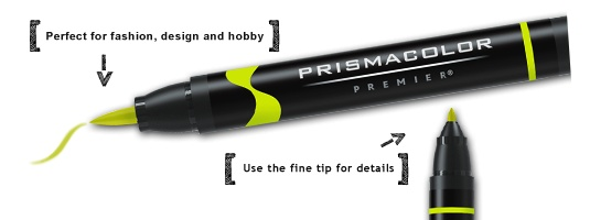 Prismacolor PRISMACOLOR PREMIER MARKER BRUSH TIP