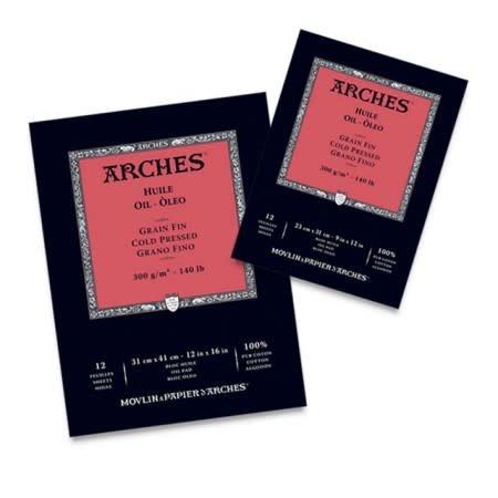 ARCHES ARCHES OIL PAD CP 140LB 12 SHT/PAD