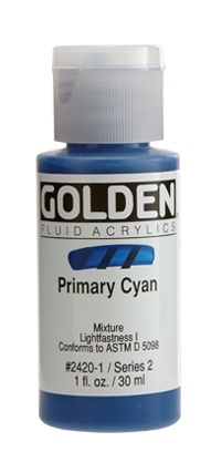 GOLDEN GOLDEN FLUID ACRYLIC