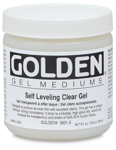 GOLDEN GOLDEN SELF LEVEL CLEAR GEL