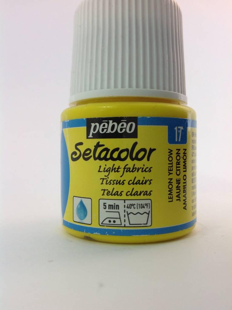 PEBEO SETACOLOR TRANSPARENT 45ML