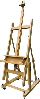 ART ADVANTAGE ART ADVANTAGE H FRAME BEECH STUDIO EASEL    E381