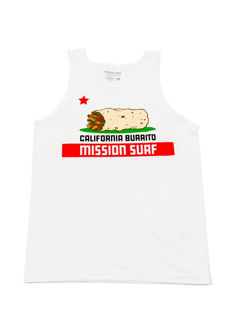Mission Surf MS - CALIFORNIA BURRITO - TANK TOP -