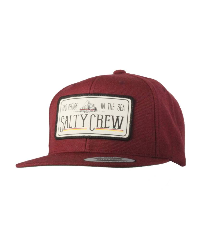 Salty Crew SALTY CREW TRAWLER PATCHED HAT - Mission Surf e74c99ef1318
