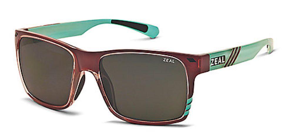 Zeal Optics ZEAL BREWER Caramel/Turquoise/DarkGrey
