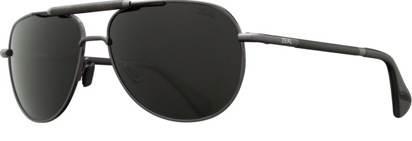 Zeal Optics ZEAL BARSTOW Polished Steel/Ellume Dark Grey