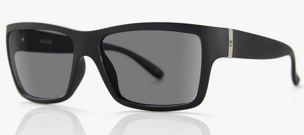 d169af59e7443 Madson MADSON PISTON BLACK MATTE   GREY POLARIZED - Mission Surf