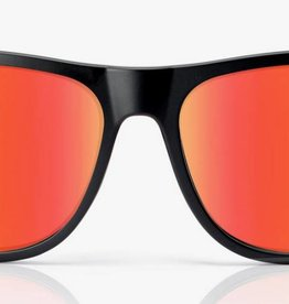 Madson MADSON METRO MATTE BLK / RED CHROME POLARIZED