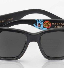 Madson MADSON CLASSICO Black Matte - Santa Cruz / Grey Polarized