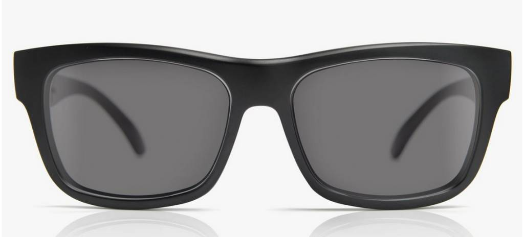 Madson MADSON FAIRFAX Black Matte/Grey Polarized
