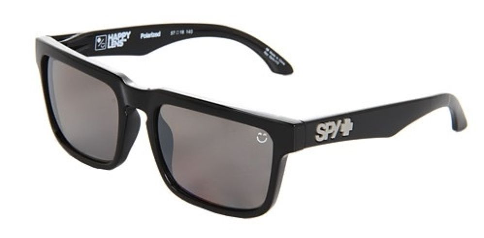 Spy Optic SPY HELM Black/Happy Bronze Polarized Black Mirror