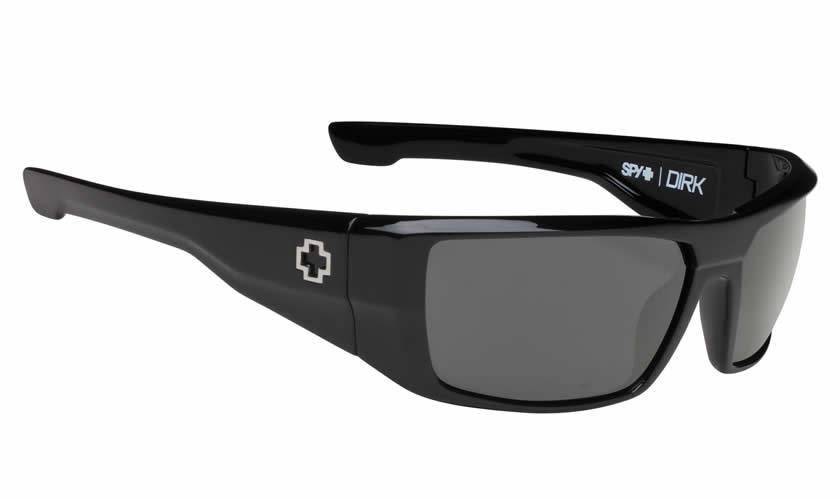 Spy Optic SPY DIRK Black/Happy Grey Green Polarized