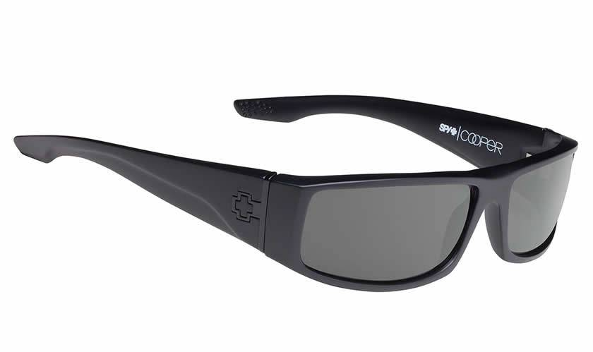 Spy Optic SPY COOPER Soft Matte Black/Happy Grey Green Polar