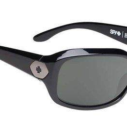701f64a8f6b Spy Optic SPY BONNIE Gloss Black Happy Grey Green Polarized