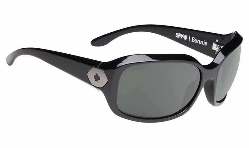 Spy Optic SPY BONNIE Gloss Black/Happy Grey Green Polarized