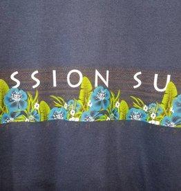 Mission Surf SURF BAND - BLUE FLORAL TANK