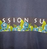 Mission Surf SURF BAND - BLUE FLORAL S/S TEE