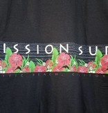 Mission Surf SURF BAND - RED FLORAL S/S TEE