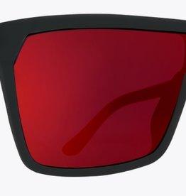 736559a5230 Spy Optic SPY FLYNN SOFT MATTE BLACK   RED FADE HAPPY GREY GREEN RED FLASH