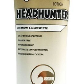 Headhunter HEADHUNTER SPF 50 SUNSCREEN PREMIUM CLEAR / WHITE 3oz.
