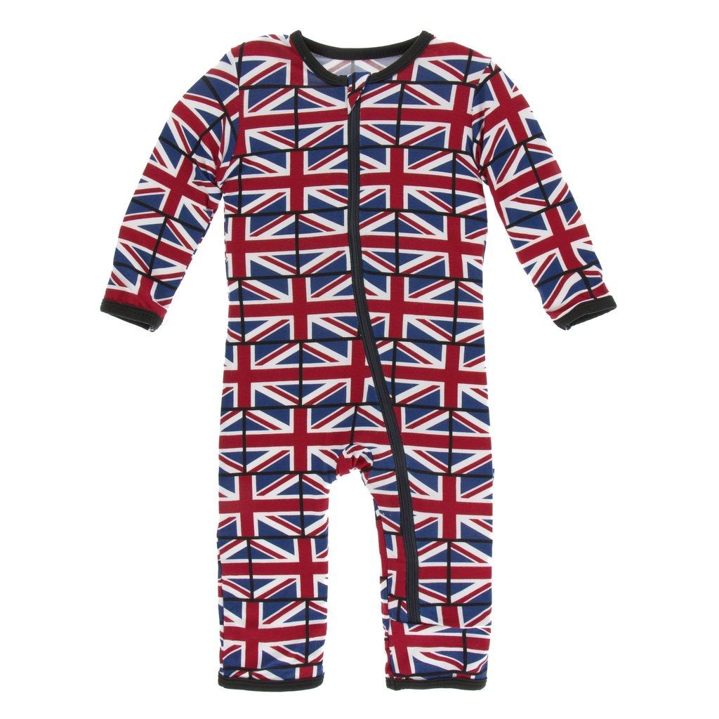 Kickee Pants Kickee Pants London Coverall w/zipper