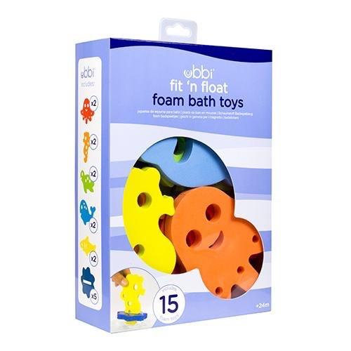 Ubbi Ubbi Fit 'n Float Foam Bath Toys