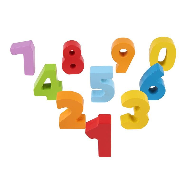 Hape Hape Lacing Numbers and Colors Pack