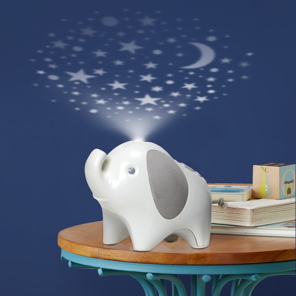 Skip Hop Skip Hop Moonlight & Melodies Elephant Nightlight Soother