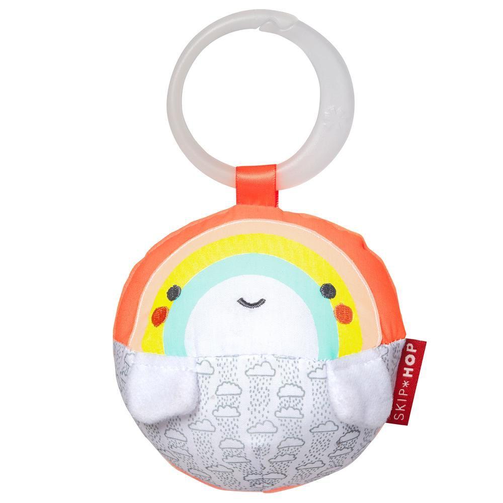 Skip Hop Skip Hop Silver Lining Rainbow Stroller Toy