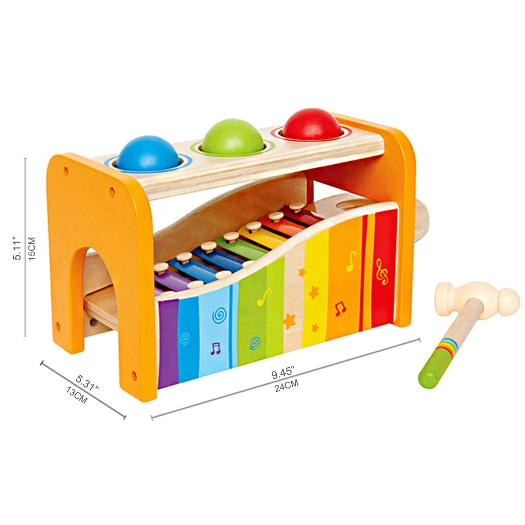 Hape Hape Pound and Tap Bench