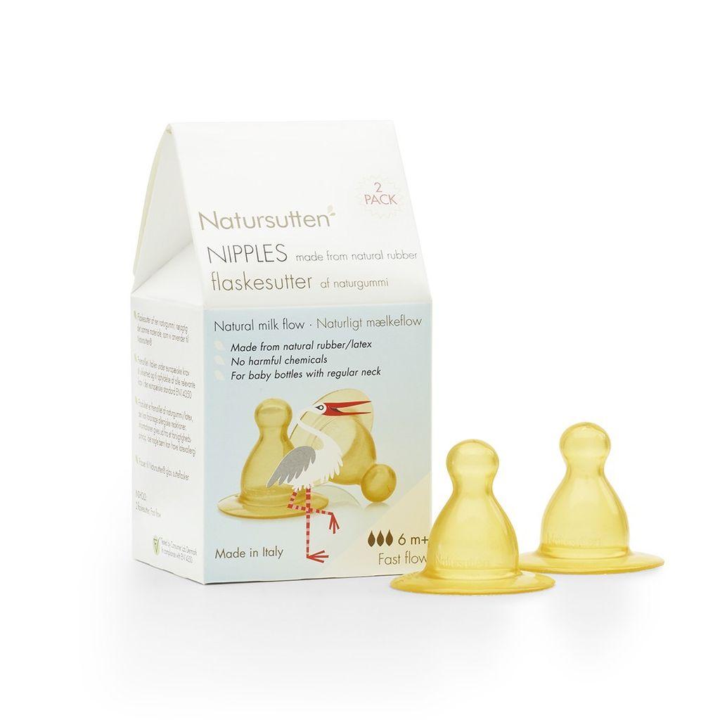Natursutten Natursutten Fast Flow Nipple - 2 pack