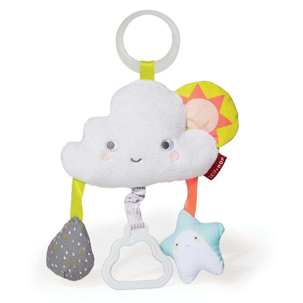 Skip Hop Skip Hop Silver Lining Jitter Stroller Toy