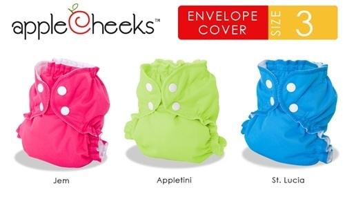 AppleCheeks AppleCheeks Size 3 Envelope Cover (Solid)