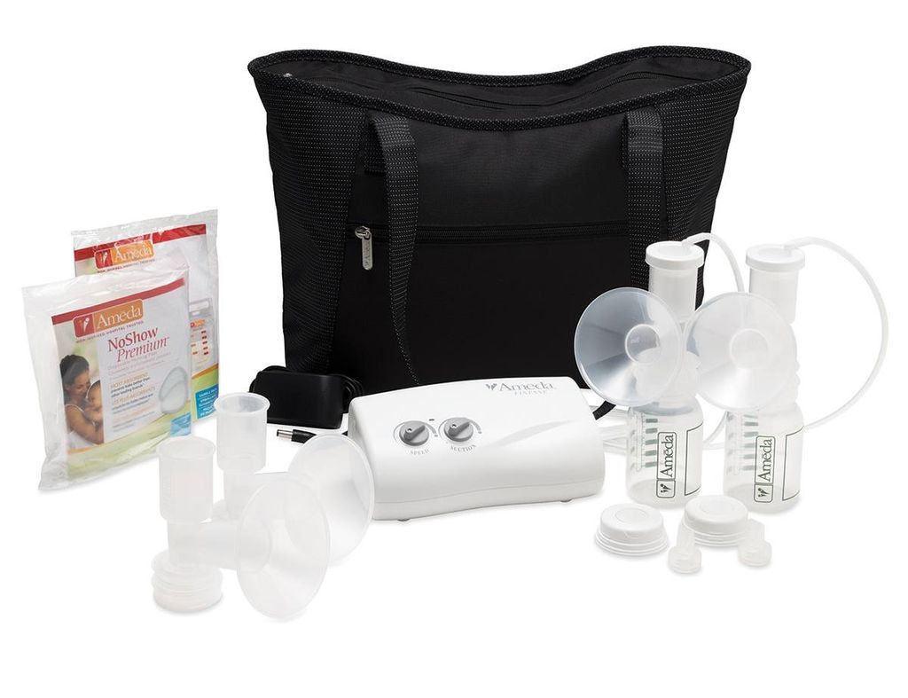 Ameda Ameda Finesse Double Electric Breast Pump with Tote