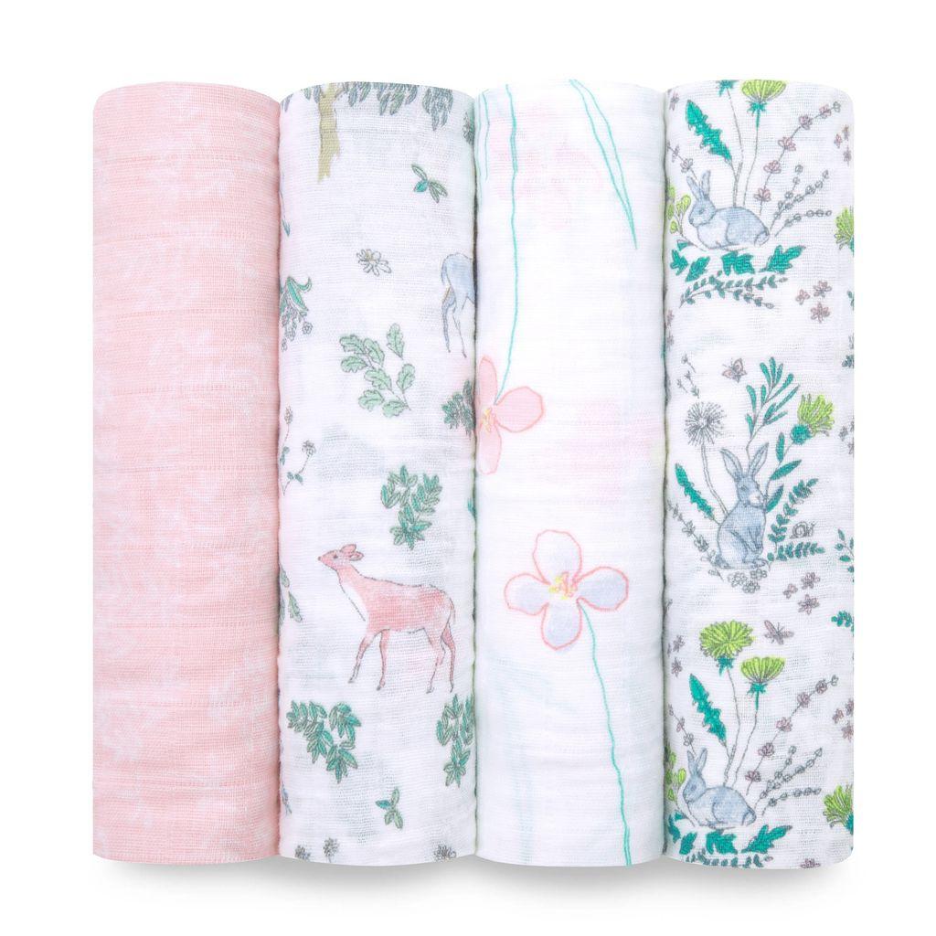 Aden & Anais Aden and Anais Single Layer Swaddling Blankets