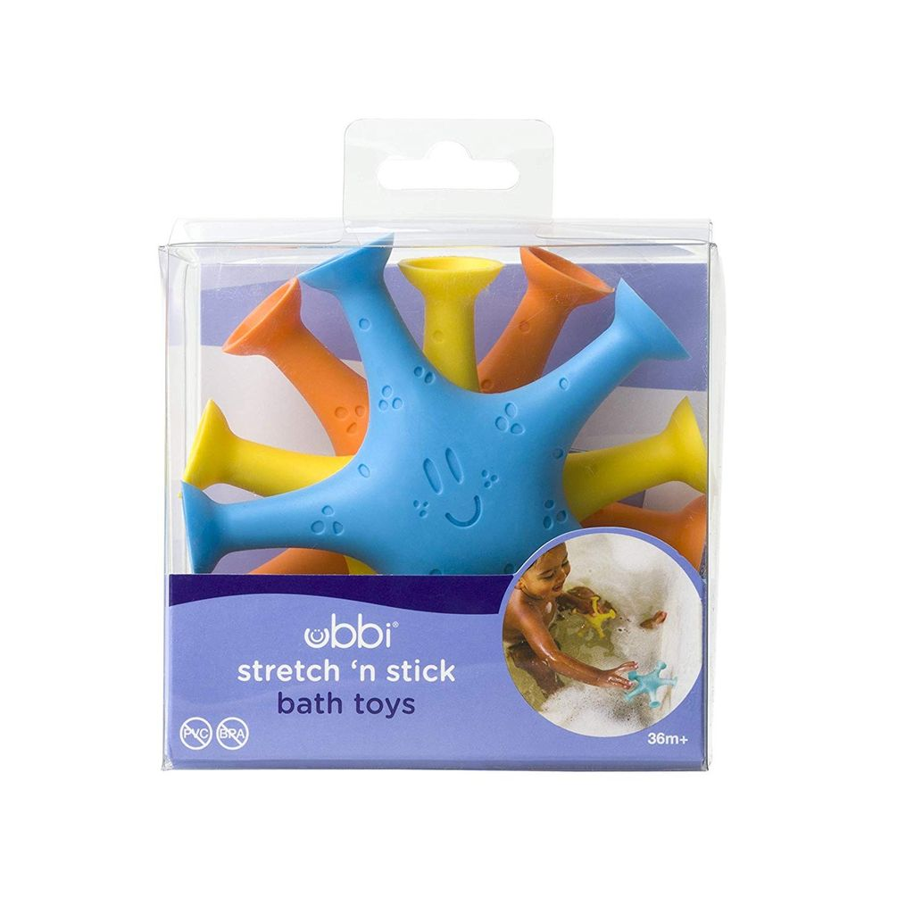 Ubbi Ubbi Stretch 'n Stick Bath Toys