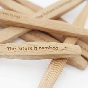 The Future is Bamboo The Future Is Bamboo Kids Toothbrush - Superhero