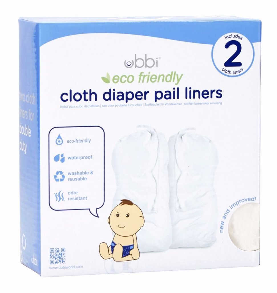 Ubbi Ubbi Cloth Pail Liner - 2 pack