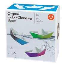 Kid O Kid O Origami Color-Changing Boats
