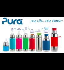 Pura Kiki Pura Kiki Insulated Bottle w/ Sleeve