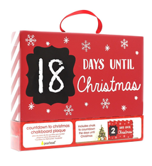 Pearhead Pearhead Countdown to Christmas Chalkboard