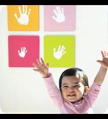 Pearhead Pearhead Handprint Wall Art Set