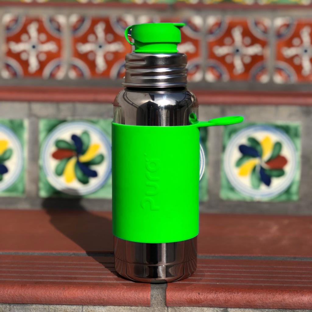 Pura Kiki Pura Kiki Insulated Sport Bottle w/ Sleeve