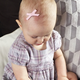 Baby Wisp Baby Wisp - Faux Suede Bow