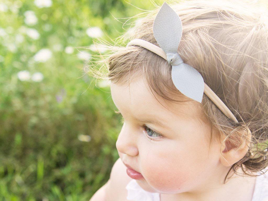 Baby Wisp Baby Wisp - Leather Knot Headband 2 pack