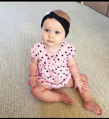 Baby Wisp Baby Wisp - Nylon Top Knot Infant Headband