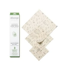 Abeego Beeswax Food Wrap - Variety Pack