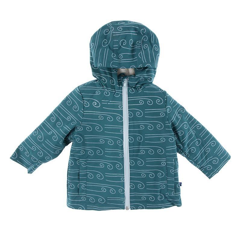 Kickee Pants Kickee Pants Geology & Meteorology Sherpa Lined Raincoat