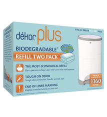Dekor Diaper Dekor Plus Refill 2-pack