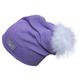 Calikids Calikids Knit Slouchy Hat w/ Pom Pom